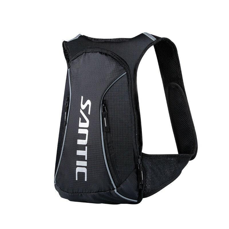 Cycling Backpack-Black and White