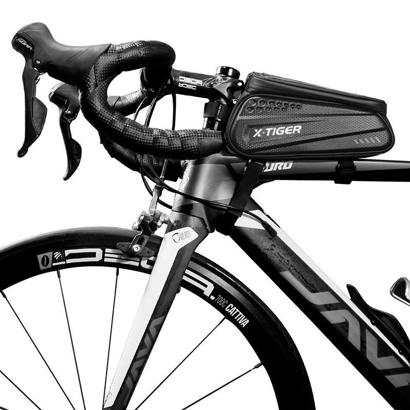 Cycling Bag- Black Waterproof