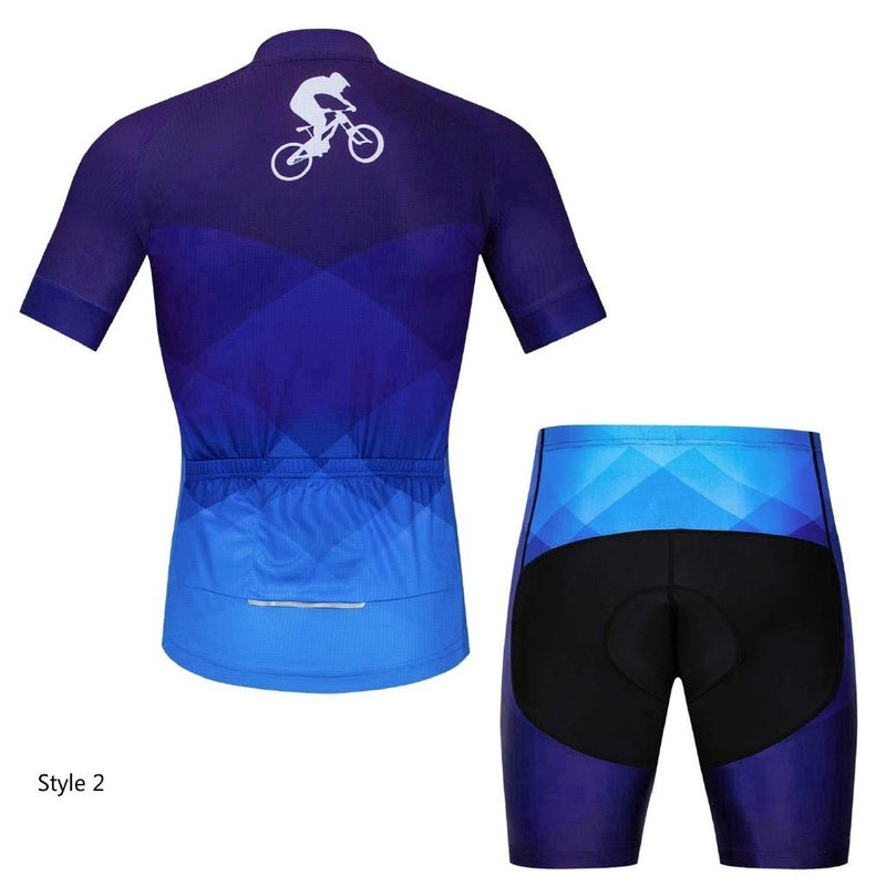 Cycling Jersey Shorts Sleeve Set