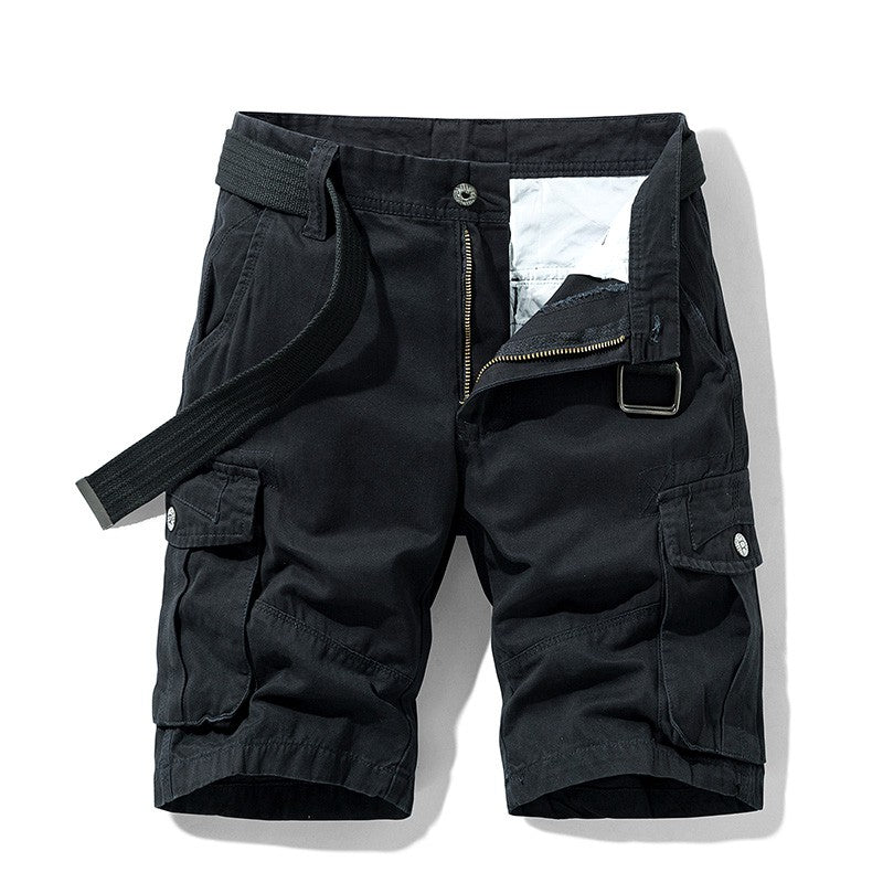 Men Black Bermudas
