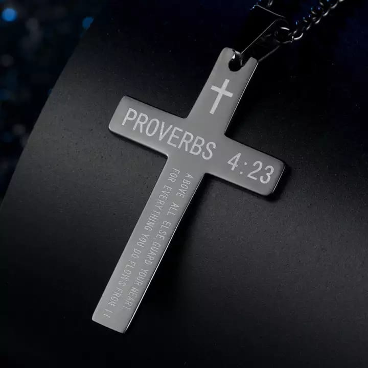 Ladies Proverbs Christ Necklace