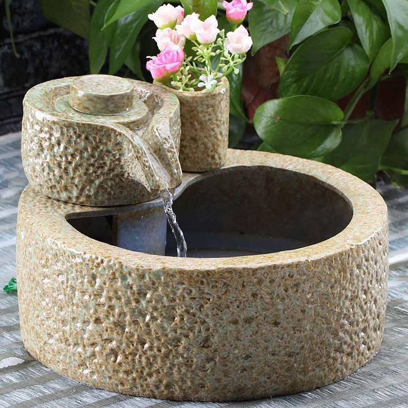 Ceramic Water Fountain
