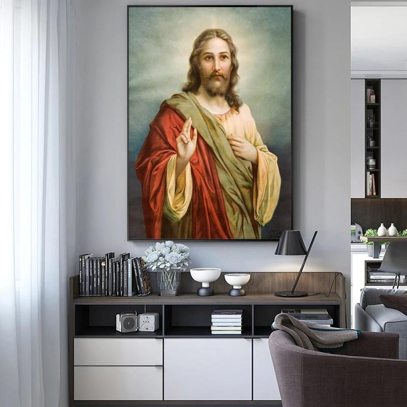 Jesus Canvas