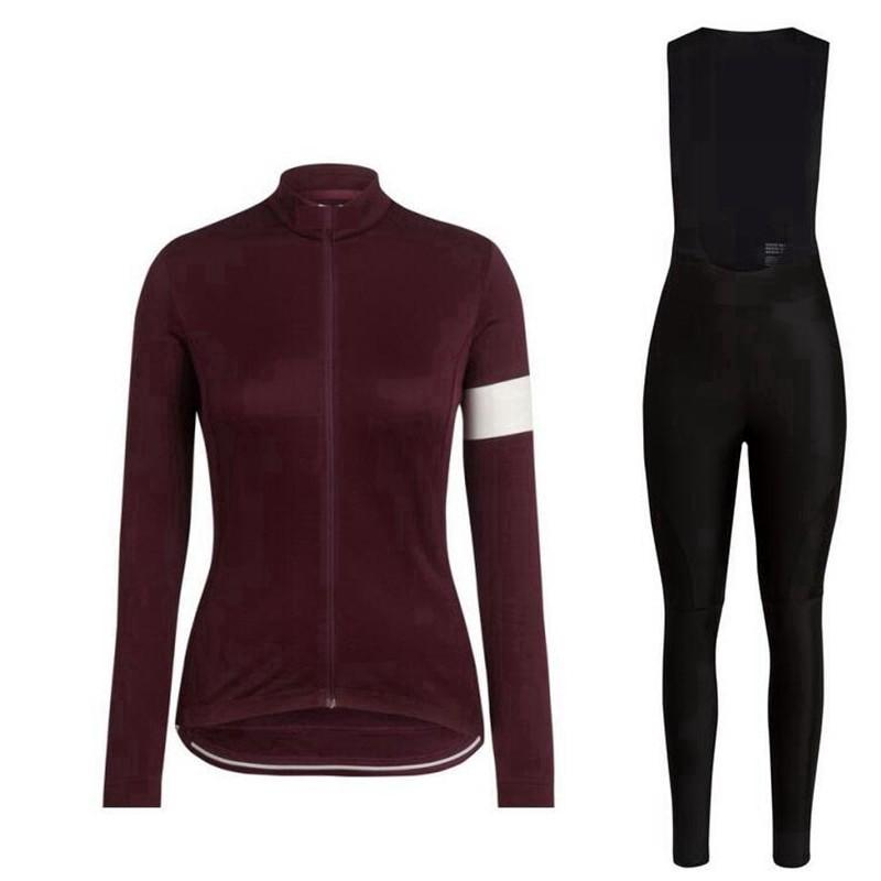 Ladies Jersey Long Sleeve Set