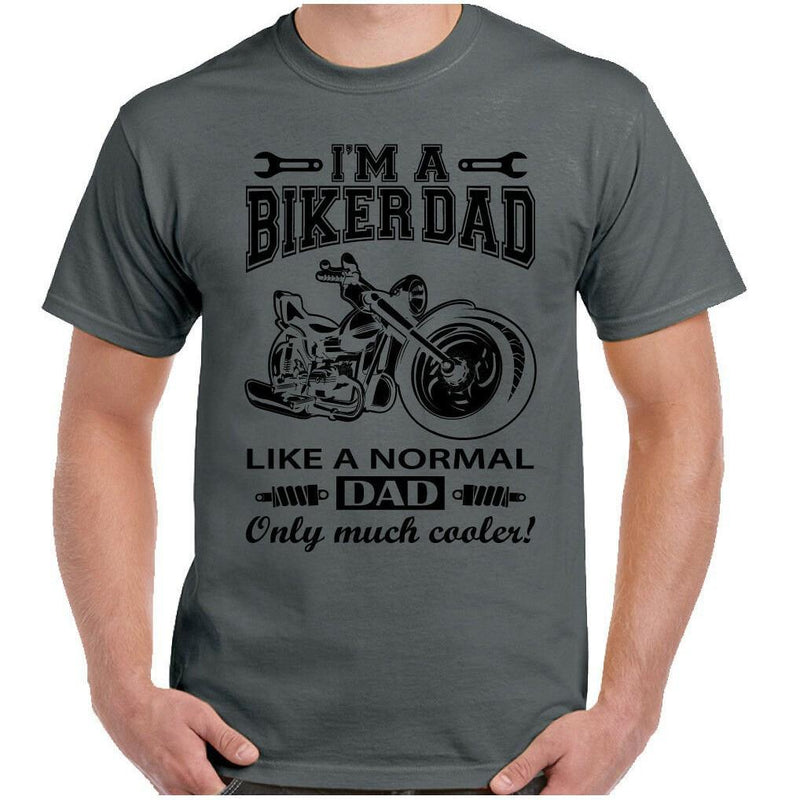 Men Biker Dad t-shirt