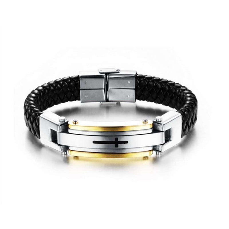 Men Casual Christ Bracelet