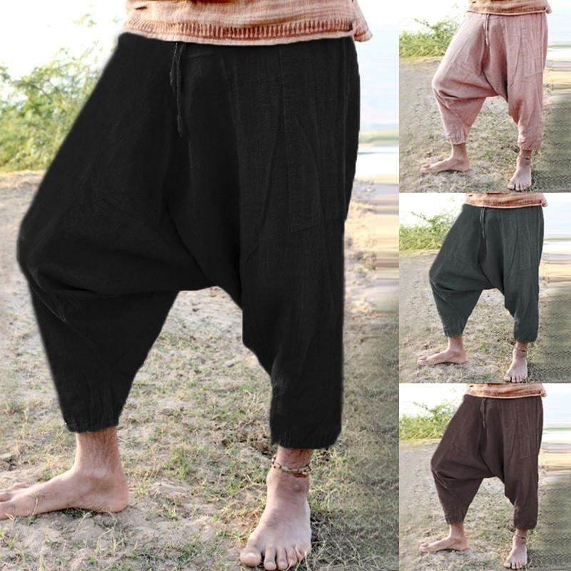 Men Harem Boho Pants