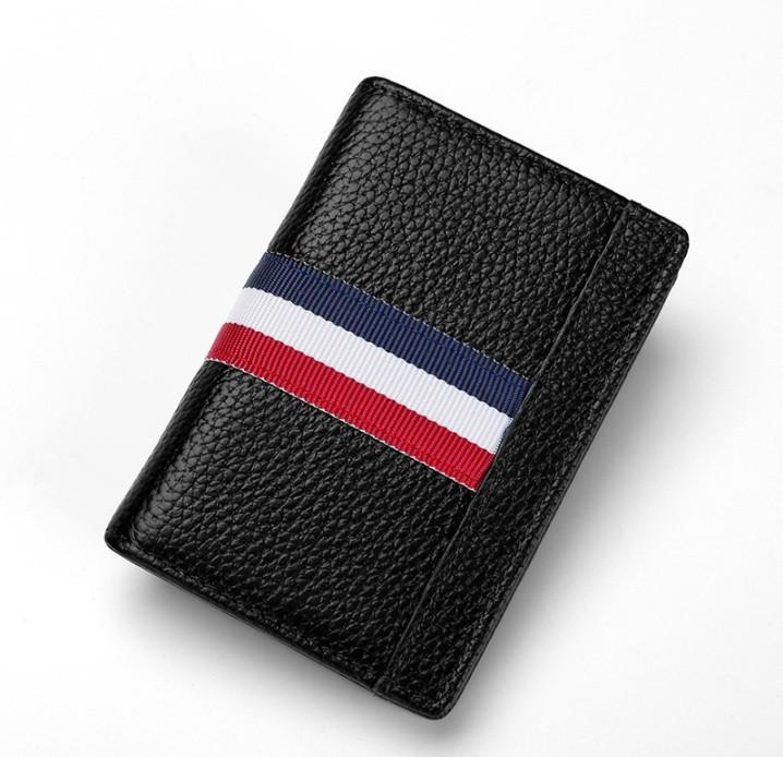 Men Wallet Striped
