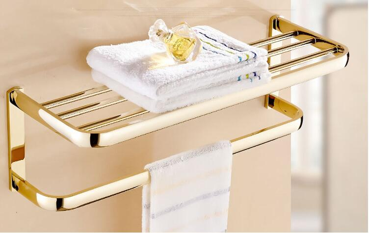 Gold Multi Antique Towel Hanger