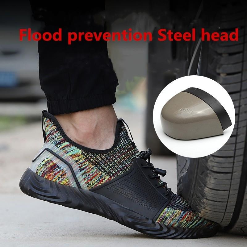 Multi Colour Safety Boots