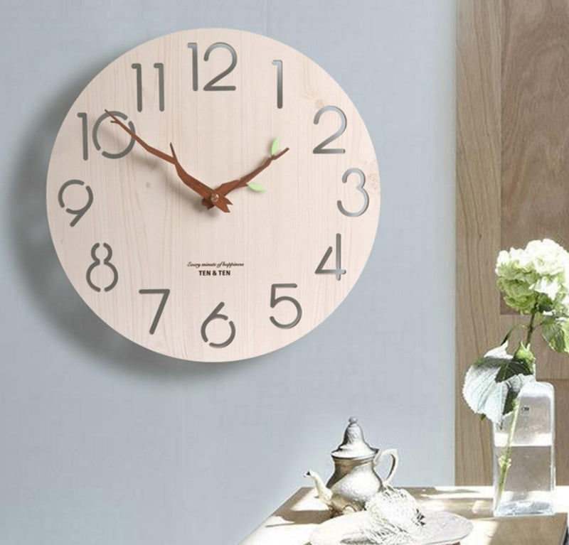 Branch Design Birch Clock