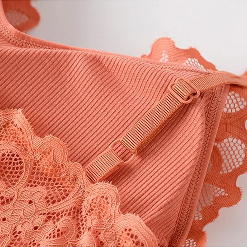 Women Lace Cotton Camisole