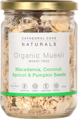 Lightly Toasted Organic Muesli 260g