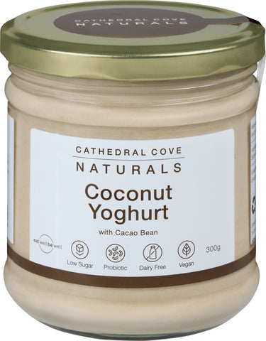Coconut Yoghurt with Cacao Bean