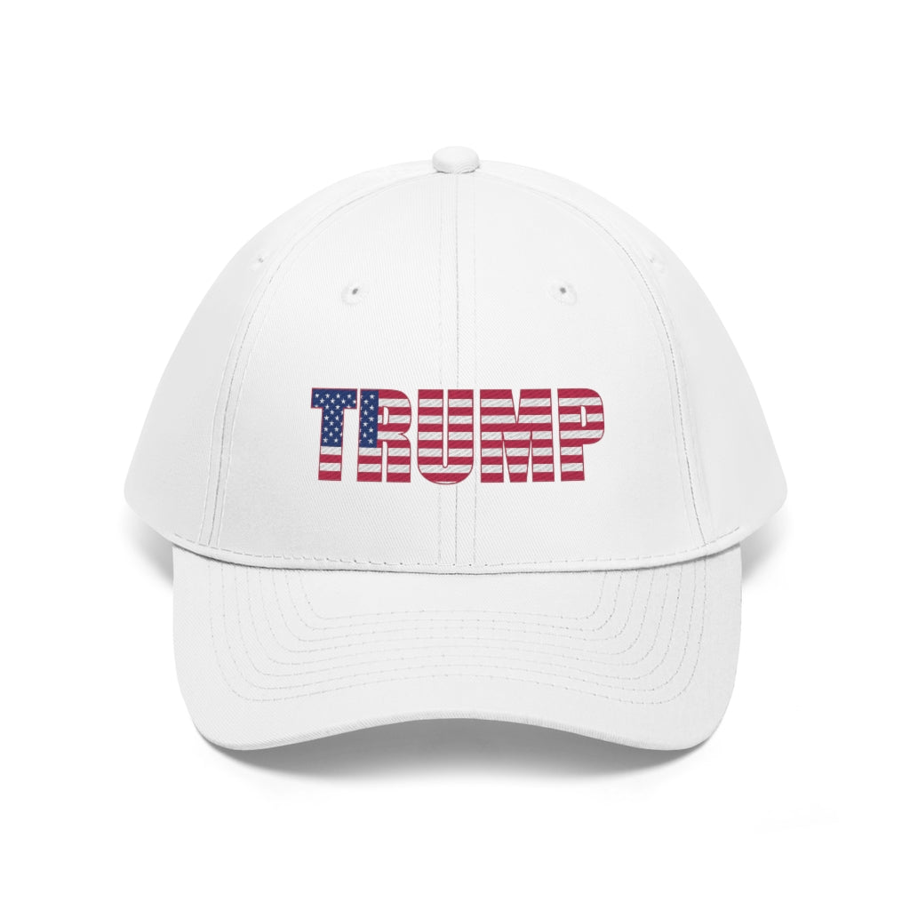 White Trump USA Hat (Unisex)