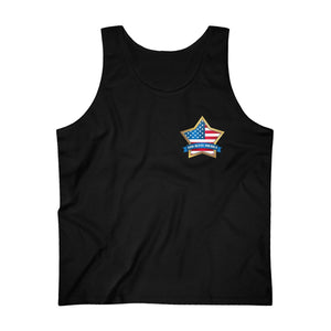 God Bless America Tank Top (Unisex)
