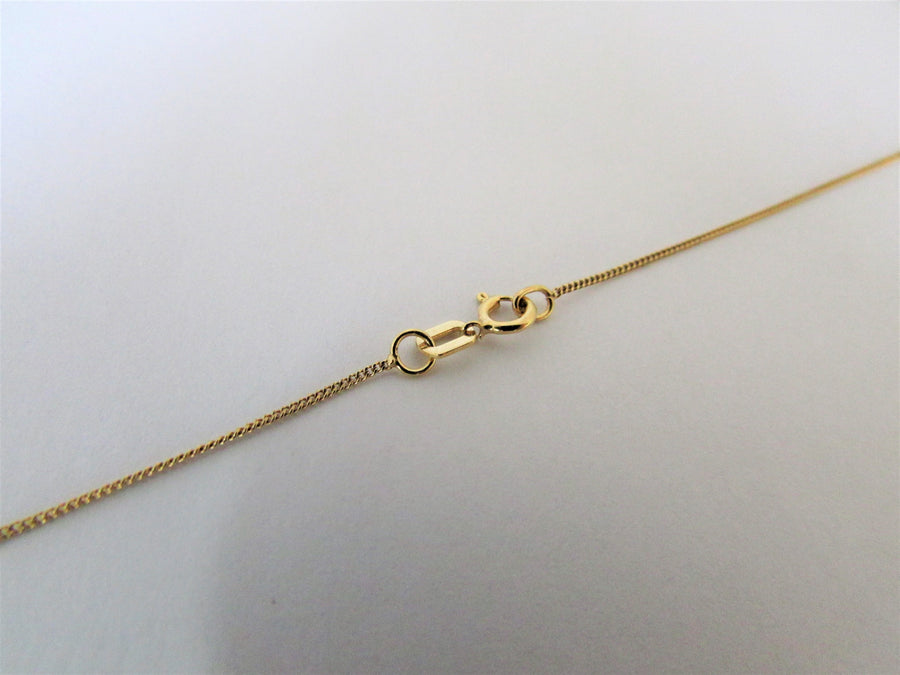 E7332 - 10 Karat Yellow Gold Chain
