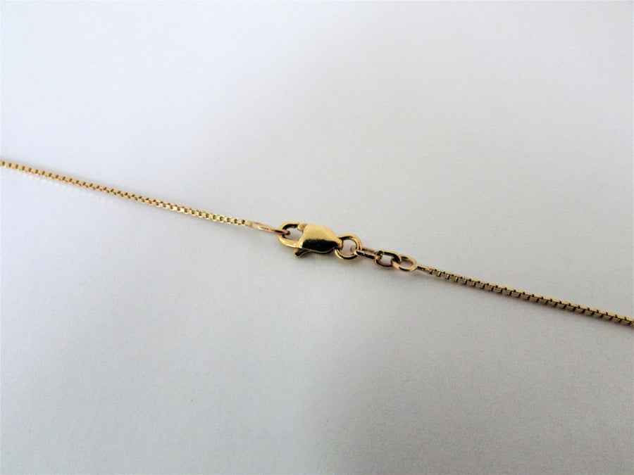 E7334 - 14 Karat Yellow Gold Chain