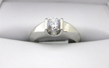 A1421 - Platinum Engagement Ring