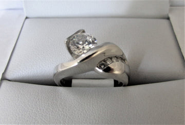 A1578 - Platinum Engagement Ring