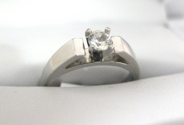 A1919 - Platinum Engagement Ring