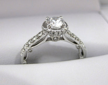 A2000 - 18 Karat White Gold Verragio Ring