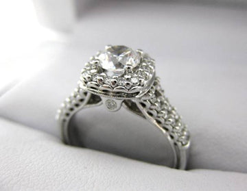 A2509 - 14 Karat White Gold Verragio Ring