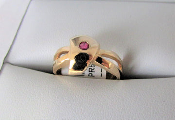 APH4685 - 14 Karat Yellow Gold Ring