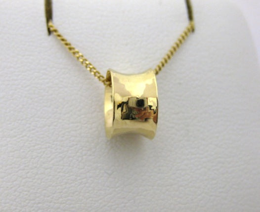 I5285 - 14 Karat Yellow Gold Ross Haynes Pendant