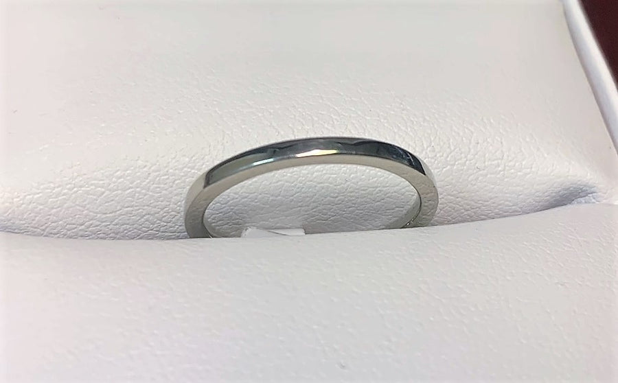 TSF406 - 14 Karat White Gold Custom Band