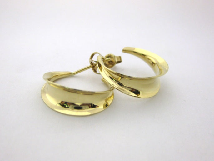 J7933 - 14 Karat Yellow Gold Ross Haynes Earrings