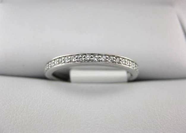 White Gold La Vie Women's Wedding Band 115144-W