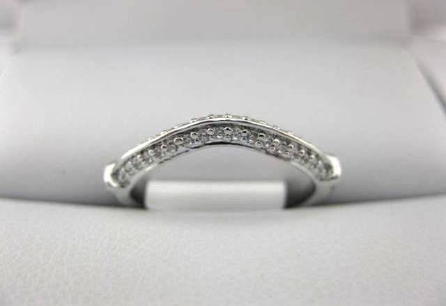 White Gold La Vie Women's Wedding Band 115235-100W
