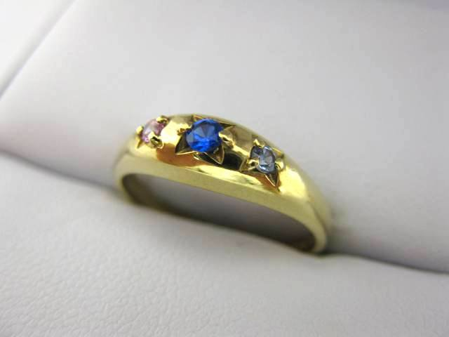Yellow Gold Family Ring C297