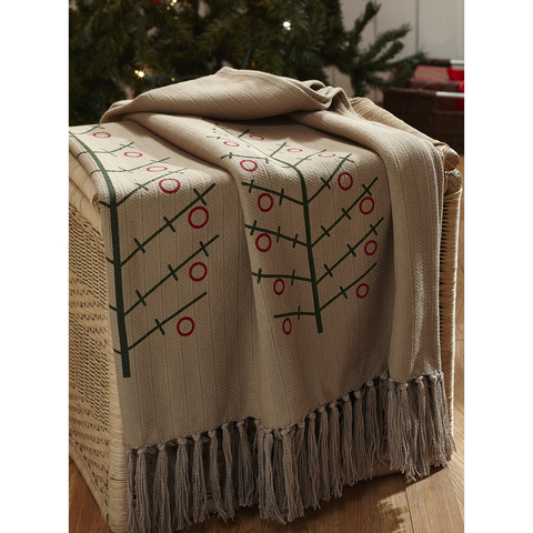 Tidings Woven Throw
