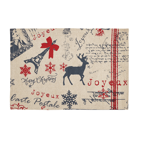 Joyeux Placemat ~ Set of 2