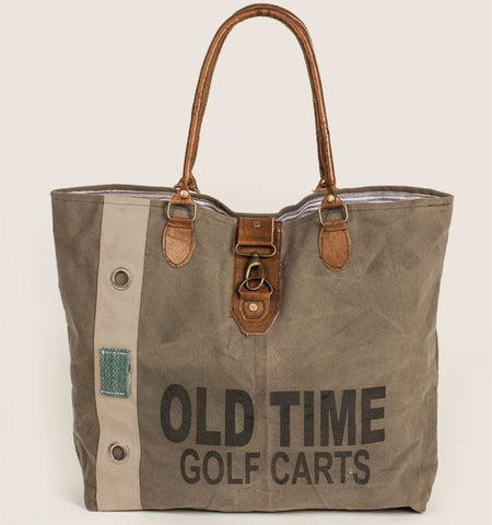 Old Time Canvas Tote