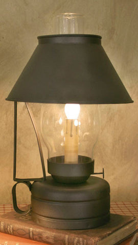 Livery Stable Lamp with Chimney