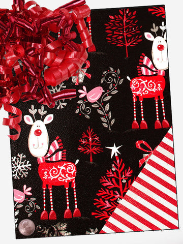 Deer Christmas Gift Wrap