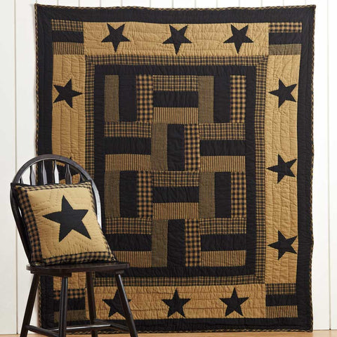 Delaware Quilted Cotton Throw