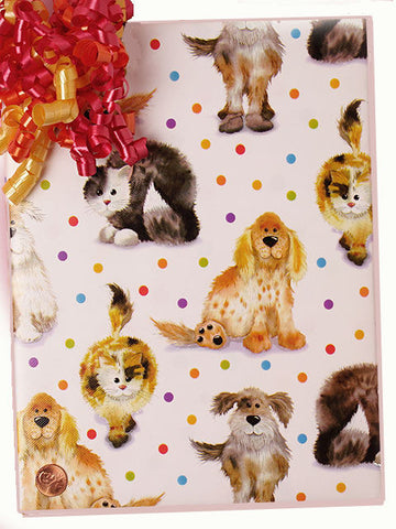 Dog & Cat Gift Wrap