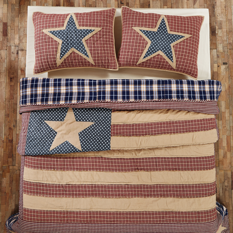 Independence Quilted Bedding