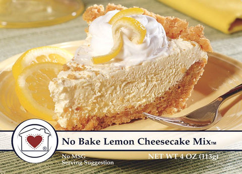 No Bake Lemon Cheesecake Mix