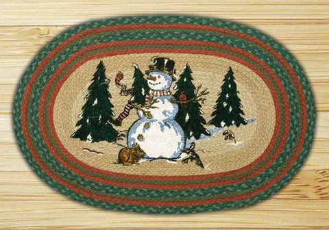 Winter Wonderland Braided Rug