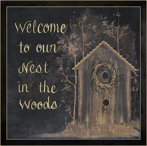 Nest in the Woods Framed Print