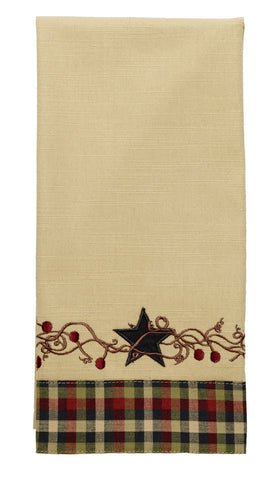 Star and Berries Kitchen Towel