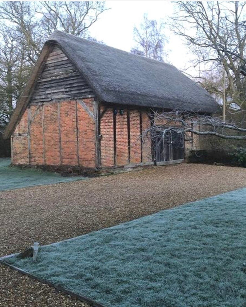 Renovation of our 17th Century Hampshire barn