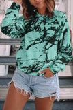 Luluautumn Ink-Splattered Sweatshirt