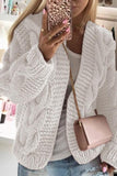 Luluautumn Thick Wool Knitted Cardigan