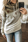 Luluautumn Multicolor Long Sleeve Hoodie Sweatshirt